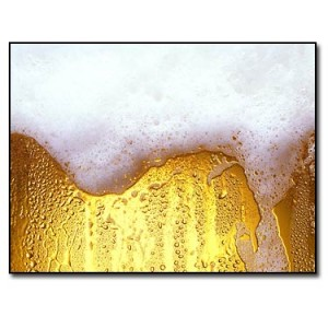 Mathematics Of Beer Bubbles